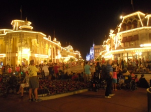 Disney World at Night
